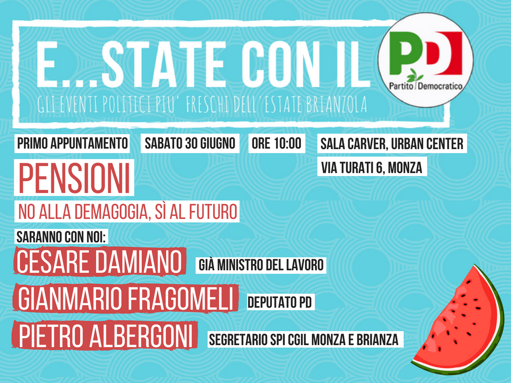 estate con il pd